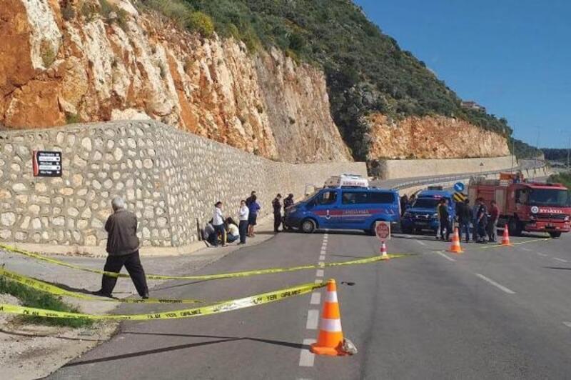İtfaiye aracıyla çarpışan motosikletli öldü
