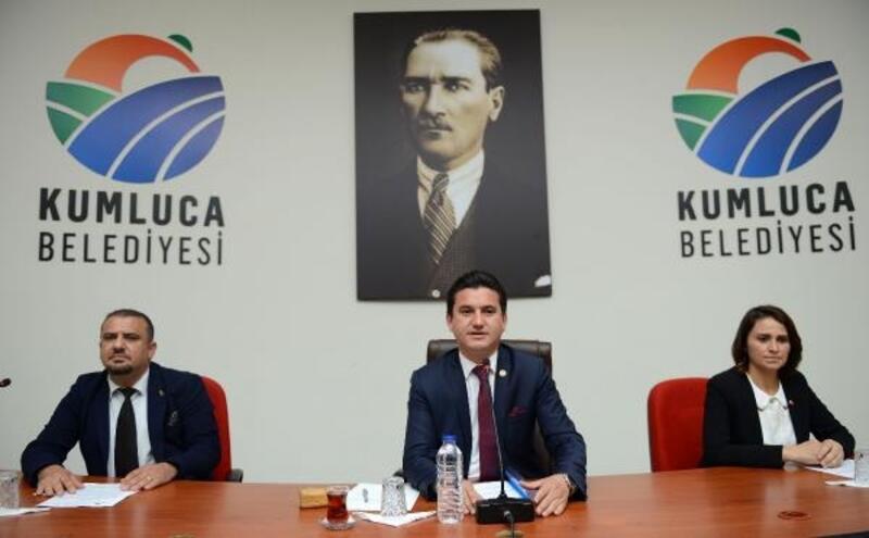 Kumluca Belediyesi'nde Meclis Toplantısı