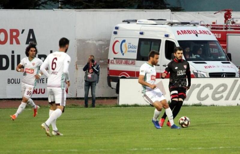 Boluspor - Hatayspor: 1-4
