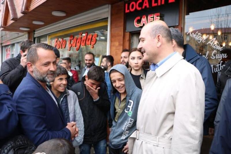 Çukurca'daki 'Foto Safari ve Doğa Sporları Festivali'ne Bakan Soylu da katıldı