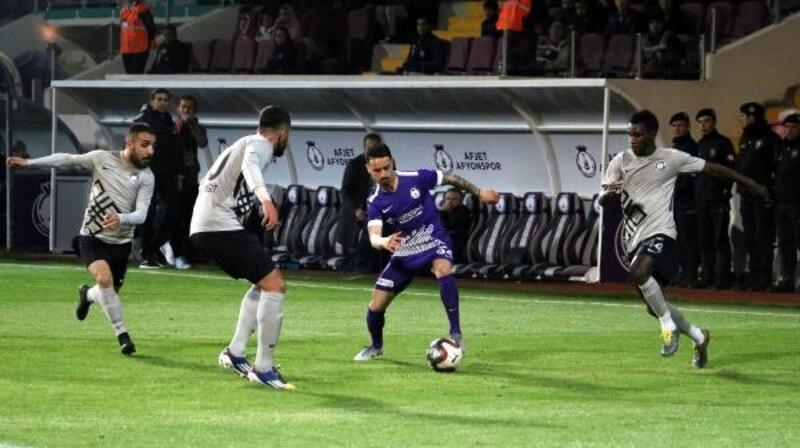 Afjet Afyonspor - Osmanlıspor: 0-0