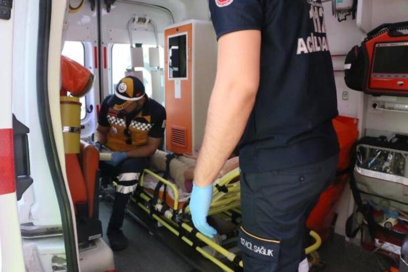 Motosikletin çarptığı 12 yaşındaki Bengün yaralandı