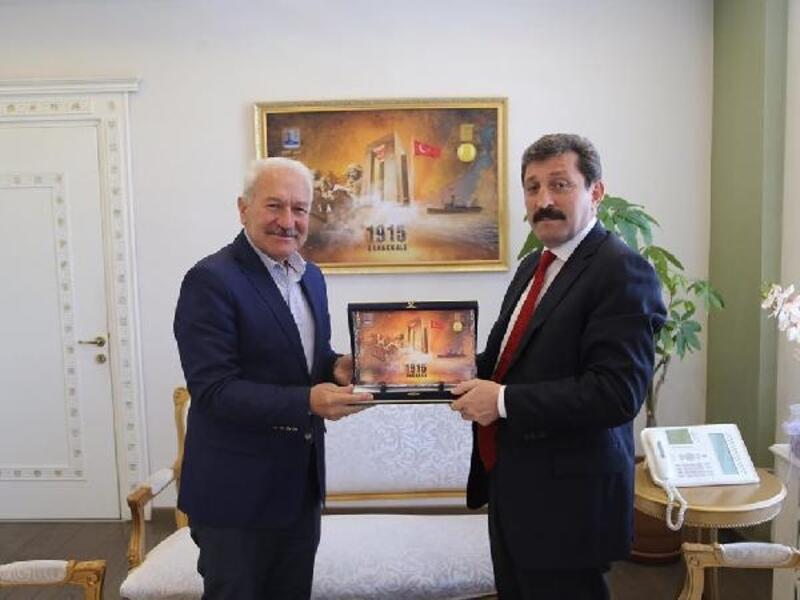 Başkan Yılmaz'dan Vali Tavlı'ya ziyaret