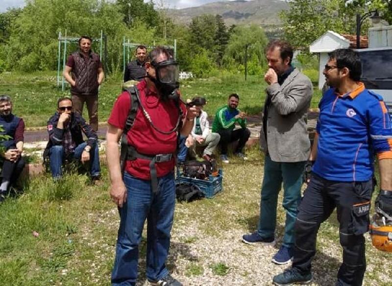 AFAD'tan doğada arama kurtarma eğitimi