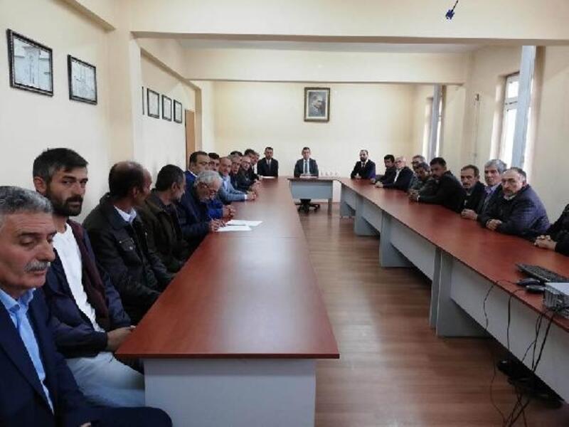 Doğanşar'da Köylere Hizmet Götürme Meclis toplantısı yapıldı