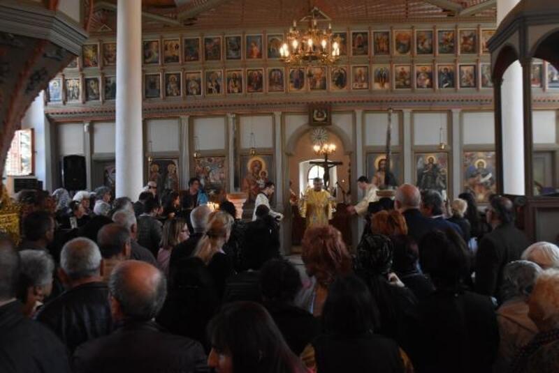 Edirne'de onarımı yapılan Bulgar Kilisesi ayinle açıldı