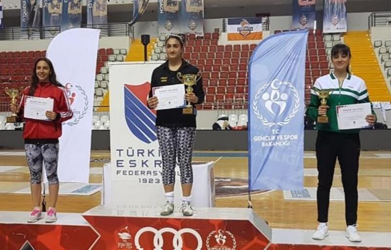 Mersin'de Büyükler Epe Federasyon Kupası sona erdi