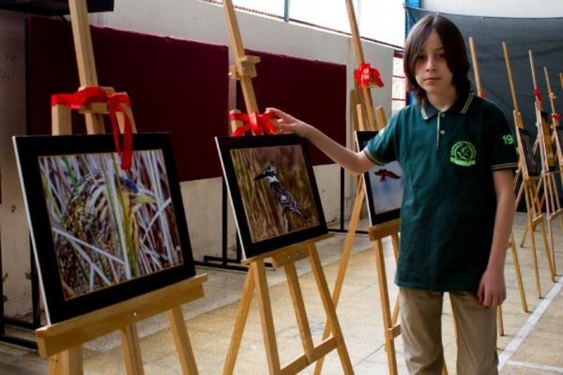 Türkiye'nin en genç yaban hayatı fotoğrafçısından sergi