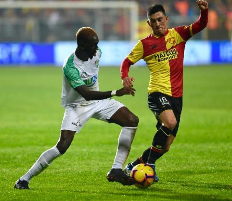 Bursaspor ile Göztepe'nin aralarındaki son maçları gol yönünden kısır geçiyor