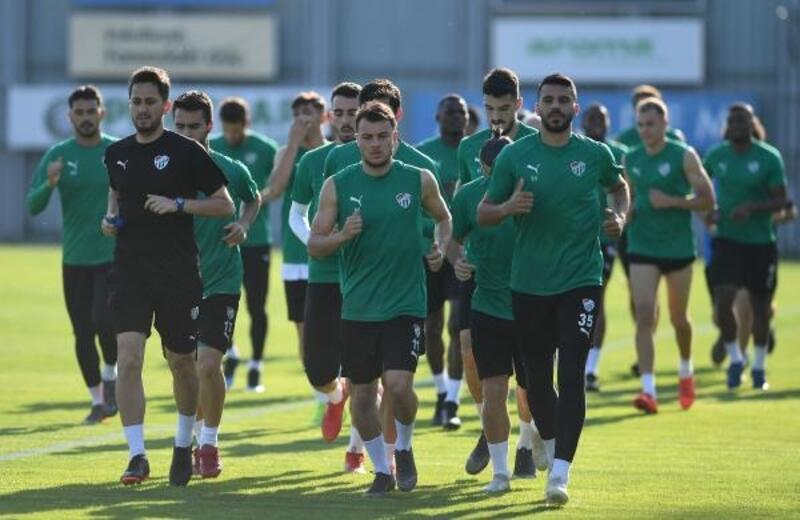Bursaspor'da Göztepe maçının hazırlıkları başladı