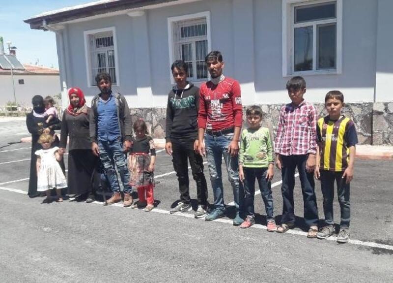 Ereğli'de yurda kaçak giren Irak uyruklu  6'sı çocuk 11 kişi yakalandı