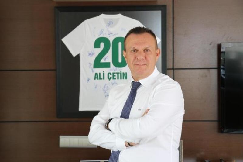 """Denizlispor Başkanı Çetin: """"Süper Lig'de hedefimiz ilk 5"""""""