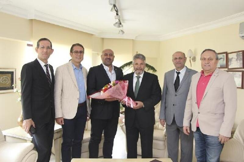 SGK İl Müdürü Aydın'dan YTSO ziyareti