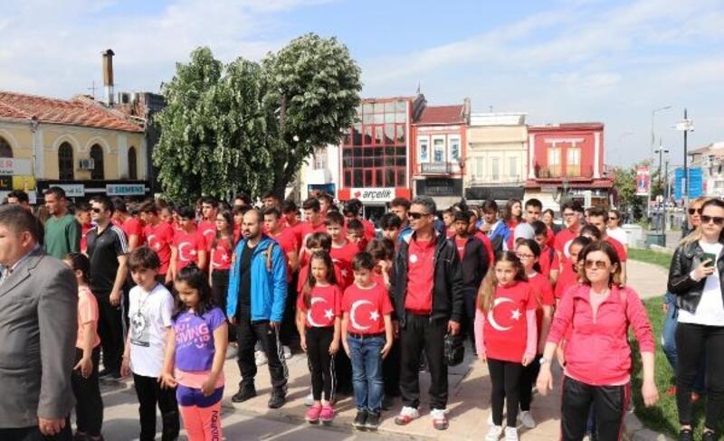 Edirne'de Gençlik Haftası törenle başladı