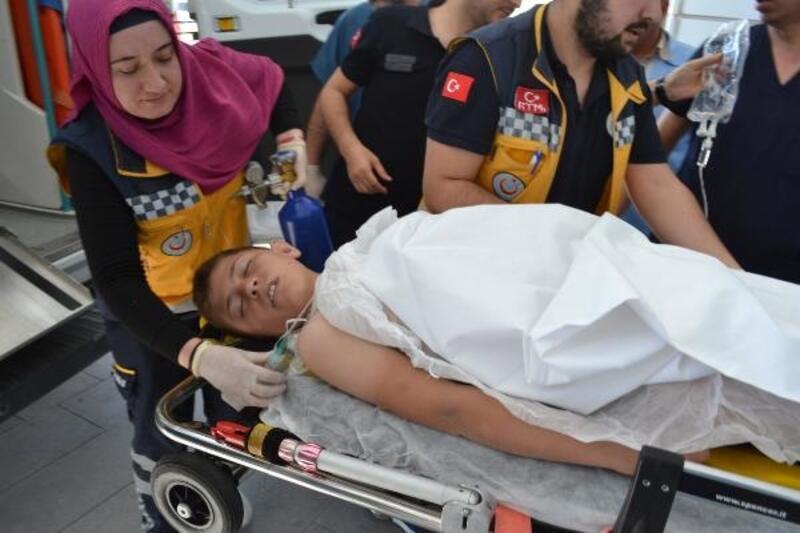 Muhammed Emin, oynarken sulama kanalına düştü