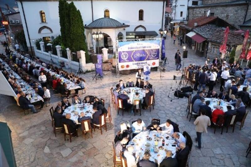 Bursa Büyükşehir Belediyesi'nden Üsküp'te iftar