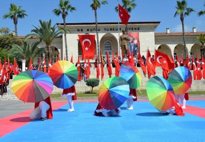 Mersin'de, 19 Mayıs kutlaması