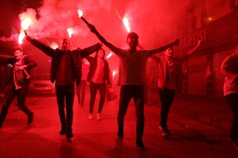 Galatasaray'ın şampiyonluğu Zonguldak'ta kutlandı