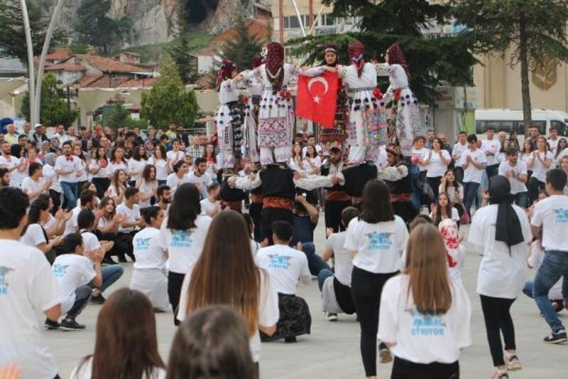 Tokat'ta 'Atabarı' ve 'Fener Alayı' etkinliği