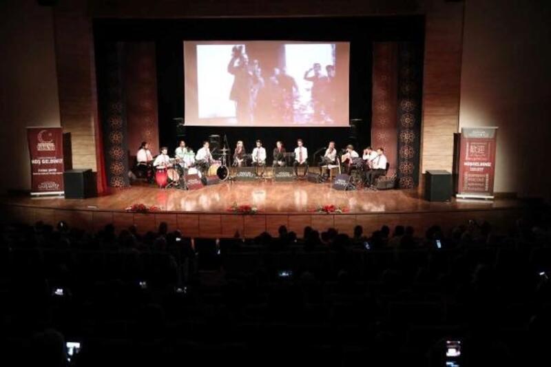 Gaziantep'te, 19 Mayıs konserine ilgi