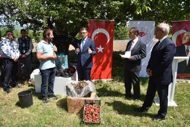 Vali Balcı: Bizim bir numaralı işimiz çiftçinin dostu olmak
