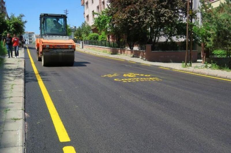 Çankaya Belediyesi, asfalt çalışmalarını sürdürüyor