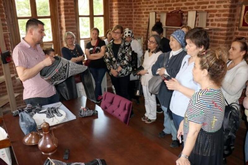 Edirne'de geleceğin ustaları, usta sanatçılarla buluştu