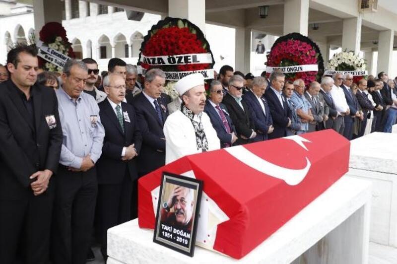 Gazeteci Taki Doğan, son yolculuğa uğurlandı