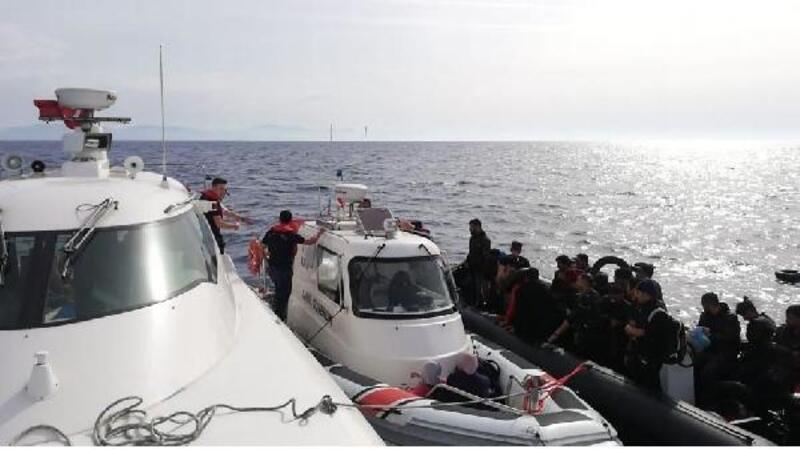 Bodrum açıklarında 85 kaçak yakalandı