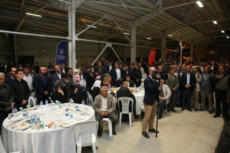 Başkan Aktaş ve Büyükorhanlılar iftarda buluştu