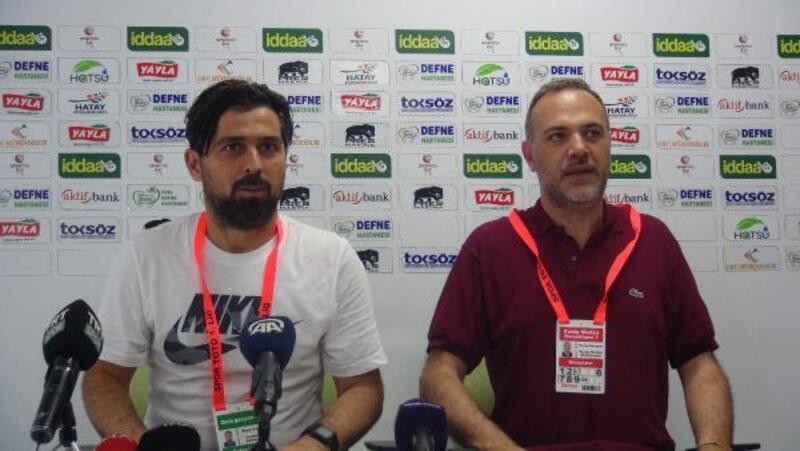 Hatayspor Teknik Direktörü Palut: İnandık ve maçı çevirdik