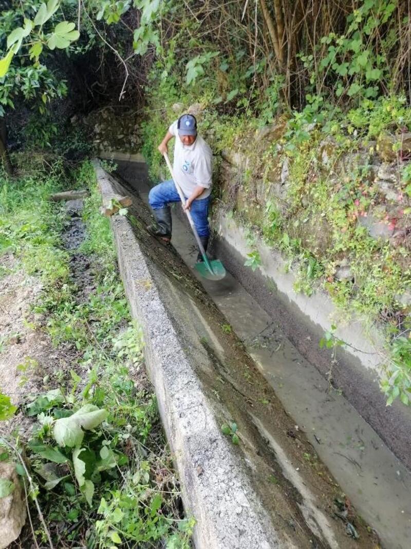 Alanya'da sulama kanalları yaza hazırlanıyor