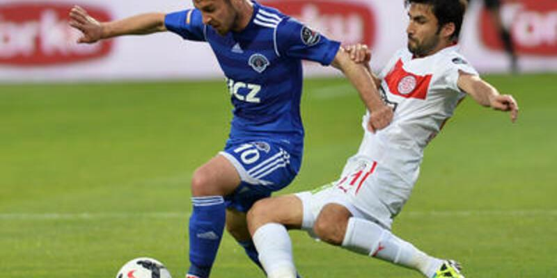 Kasımpaşa: 2 - Medical Park Antalyaspor: 0