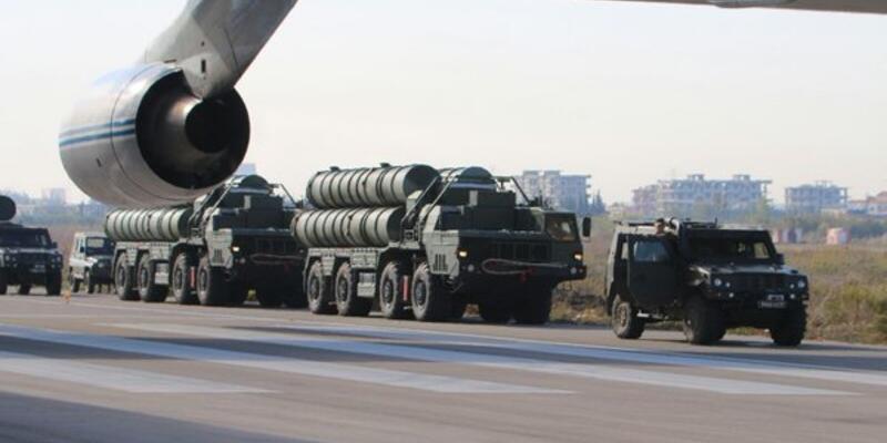 Rus S-400 füzeleri Suriye'de konuşlandı