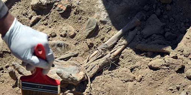 Şengal yakınlarında Ezidilere ait toplu mezar bulundu