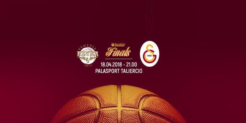 Canlı: Reyer Venezia-Galatasaray maçı izle   S Sport canlı yayın (EuroCup Final 2. maç)