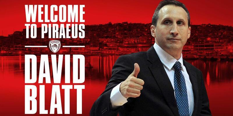David Blatt Olympiakos'ta