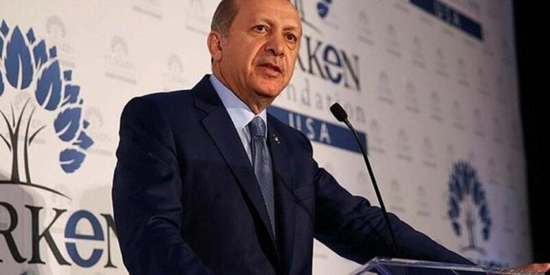 Cumhurbaşkanı Erdoğan TÜRKEN Vakfı galasında