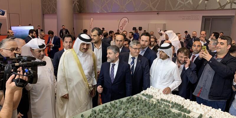 Türk şirketler fuarda Katarlı yatırımcılarla buluştu