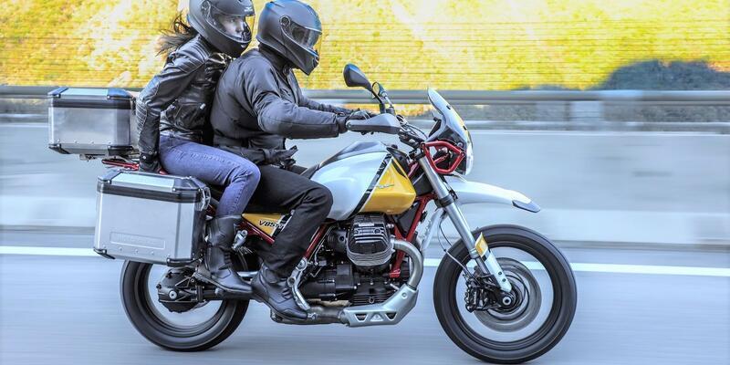 Moto Guzzi'den İtalyan Enduro yorumu