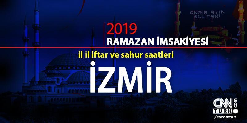 İzmir iftar vakti 2019... Ramazan imsakiyesi ve İzmir iftar saatleri