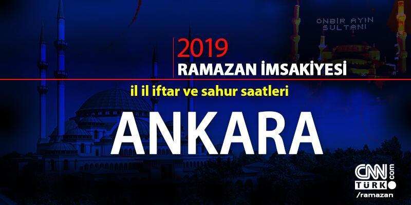 Ankara iftar saati bugün kaçta? Ankara Ramazan imsakiyesi cnnturk.com'da!