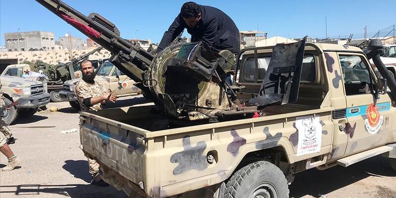 Libya'da Trablus Havalimanı çevresinde yeniden çatışmalar çıktı