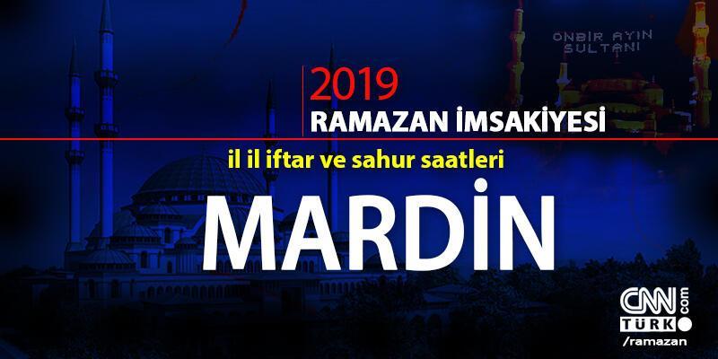 Mardin iftar vakti cnnturk.com'da! (Diyanet Mardin Ramazan imsakiyesi)