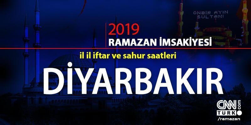 Diyarbakır iftar saatleri 2019 - Diyanet Diyarbakır akşam ezanı vakti