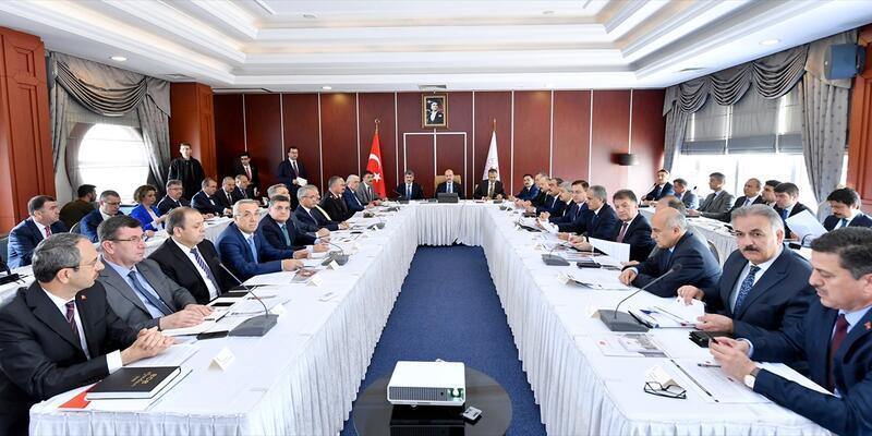 23 Haziran Seçim Güvenliği Toplantısı yapıldı
