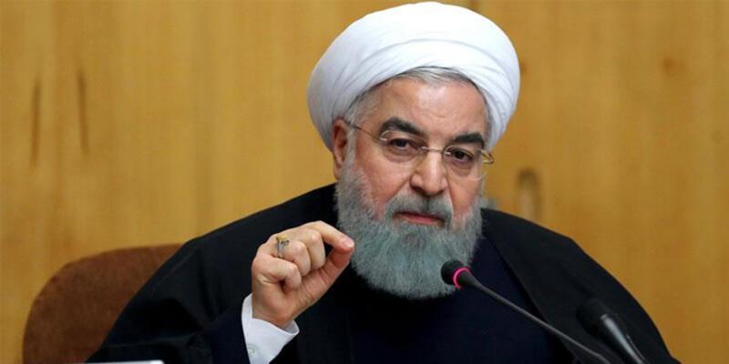 İran Cumhurbaşkanı Ruhani: Zorbalık karşısında asla teslim olmayacağız