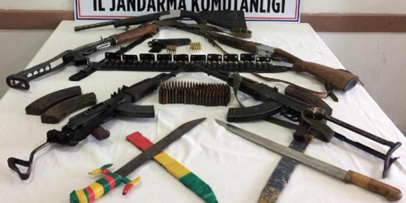 Silah kaçakçılarına operasyon: 7 gözaltı