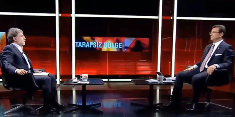 İmamoğlu, CNN TÜRK'te soruları yanıtladı