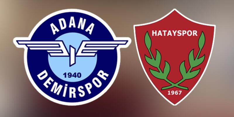 Adana Demirspor Hatayspor play off maçı saat kaçta, hangi kanalda?